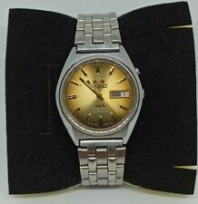 Vintage Mens 36mm ORIENT AAA Crystal 21jewels 46943 Automatic