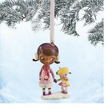 Disney Authentic Doc McStuffins & Lambie Sketchbook Holiday Christmas Ornament