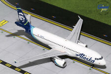 IN STOCK Alaska Airlines Airbus A320 GeminiJets 1:200 Diecast Models G2ASA737