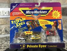 Micro Machines Private Eyes Collection #9 NIB NOS MOC Sealed 1989 RX-7 T-Bird