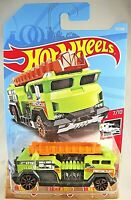 2019 Hot Wheels #172 HW Rescue 7/10 5 ALARM Green w/Copper Trap5 Spoke Wheels