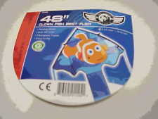"Kite Clown Fish 48"" Best Flyer Single Line Kite Winder String..13.... SD 01145"