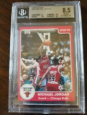 1984-85 Star #101 Michael Jordan Rookie RC BGS 8.5 with 3 9.5 Subs .5 from BGS 9