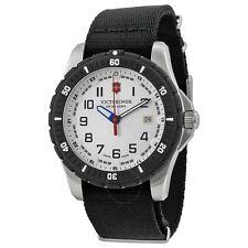 Victorinox Men's 241676.1 Analog Display Swiss Quartz Black Watch
