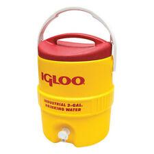 IGLOO 421 Beverage Cooler,2 gal.,Yellow