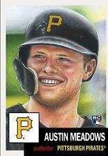 Austin Meadows 2018 Topps Living Set Pittsburgh Pirates MLB RC