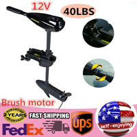 40LBS Electric Trolling Motor Outboard Engine Fishing Boat Brush Motor US