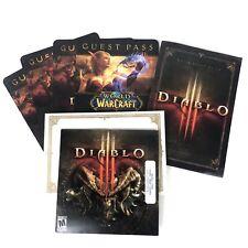 Diablo III 3 DVD Disco de Juego PC Edición de Coleccionistas