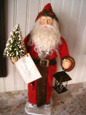 Bethany Lowe Vintage Style Santa Claus~Saint St Nicholas Candy Container Td4068