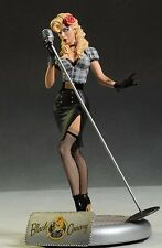 Black Canary Bombshell Statue First Edition Mint Ant Lucia DC Collectibles