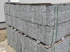Basalt Leistensteine, Kantensteine, Bordsteine, Palisaden, Pergolen 100x25x8cm