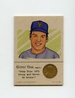 TOM SEAVER Mets 1975 Penny Insert NEVER GO BROKE Trade Card RARE