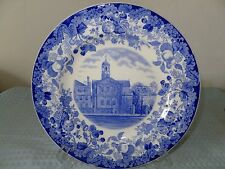 Harvard University Plate Harvard Hall Lionel University Wedgwood England