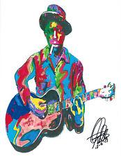 Robert Johnson Crossroads Guitar Delta Blues Music Print Poster Wall Art 8.5x11