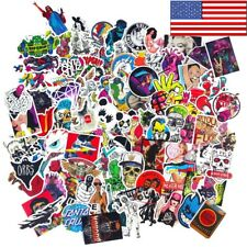 300 Random Skateboard Stickers bomb Vinyl Laptop Luggage Decals Dope Sticker Lot