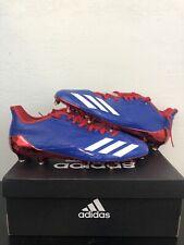 Adidas Adizero 5-Star 6.0 Football Cleats White Red Blue USA SZ 12 AW1439