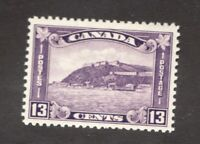 #201  Canada George V  - 1932 - 13 Cent stamp MH  - F/VF - superfleas