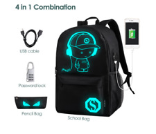 46d62ca2bf School Backpack Bag Travel Shoulder Laptop Anime Cartoon Teens Girls Boys  Pack