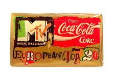 COCA COLA Pin / Pins - MTV EUROPEAN TOP 20 [3675]