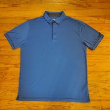 G-Mac Apparel Mens Blue Golf Polo Shirt Size XL Short Sleeve