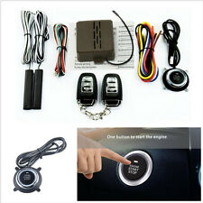 Passive Keyless Entry Car E Models Alarm System Push Button Start Remote Engine