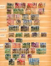 Briefmarkensammlung Österreich 1925 1929 1932 1934 Republik stamps used Stempel