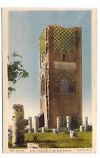 marrakech , la tour hassan --