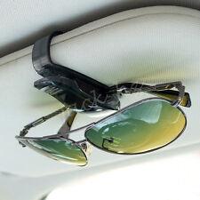 Vehicle Glasses Holder Sun Shades Eyeglass Frame Card Clip Interior Accessories