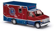 Busch 41840 - 1/87/h0 FORD e-350 Ambulance-raytown Ambulance-NUOVO