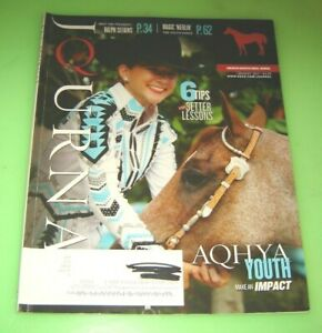 American Quarter Horse Journal AQHA August 2017