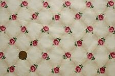 CHAMPAGNE GARDENS PINK ROSEBUD 100 % COTTON SMOCKING QUILT FABRIC MARCUS BROS.