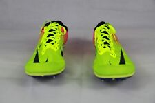 NIKE ZOOM MAMBA 3 RACING TRACK FIXED SPIKES VOLT BLACK PINK 706617-999 SIZE 14