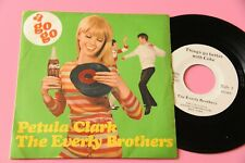 """petula clark 7"""" everly brothers go better with coke orig italy 1968 ex"""