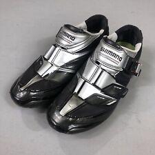 Shimano Carbon Elite 3 Bolt Cycling Shoe SH-R191L Black Silver EU 42 US 8.3