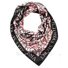 """VS BOMBSHELL FLORAL SCARF Victoria's Secret * 25"""" x 25"""" 100% Polyester MSRP $28"""