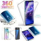 Shockproof 360° Protect Clear Full Body Rubber Back Skin Phone Case Screen Cover