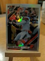 2019 DONRUSS OPTIC BAKER MAYFIELD SILVER  Holo PRIZM REFRACTOR Cleveland BROWNS