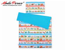 Set biancheria da letto 2 pezzi 100x135 Mini - auto blu