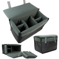 Insert Padded Camera Bag Inner Folding Divider Partition Protect Case For Dslr