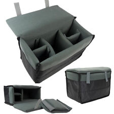 Cámara SLR Cámara Réflex Digital acolchado bolso forro de inserción d D bolsa suave a prueba de choques insert case