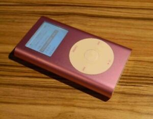VERY CLEAN! Apple iPod mini 2st Generation Pink (4 GB) - FREE SHIPMENT