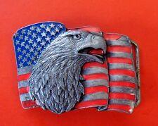 1990 Vintage Siskiyou Eagle Belt Buckle A16