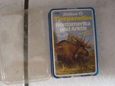 Tierparadies Nordamerika+Arktis-Pelikan  Quartettspiel --sauber und top-ovp.