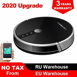 LIECTROUX C30B Robot Vacuum Cleaner Map Navigation,WiFi App,4000Pa