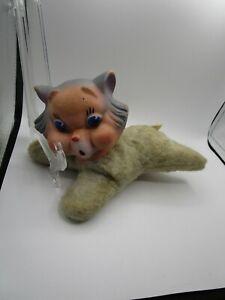 Vintage Rubber Faced Cat