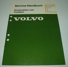 Werkstatthandbuch Volvo 340 Motor B172 / B 172 Stand Juli 1985