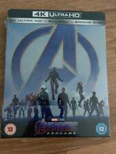 Avengers Endgame 4K - Steelbook Exclusif LimitéZavvi