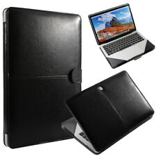 """Laptop Leather Book Folio Sleeve Case Bag For MacBook Pro 13"""" A2159/A1989/A1706"""