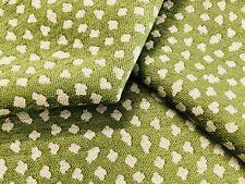 Manuel Canovas Animal Skin Chenille Uphol Fabric- Safari Menthe 3.90 yd 4576/04