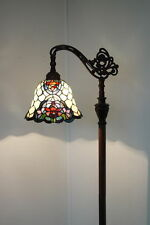 NEW ARRIVAL@Gorgeous Floral Bridge Arm Tiffany  Floor Lamp*High quality